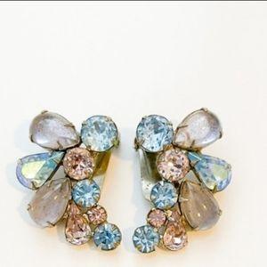 Vintage H. Carnegie clip earrings